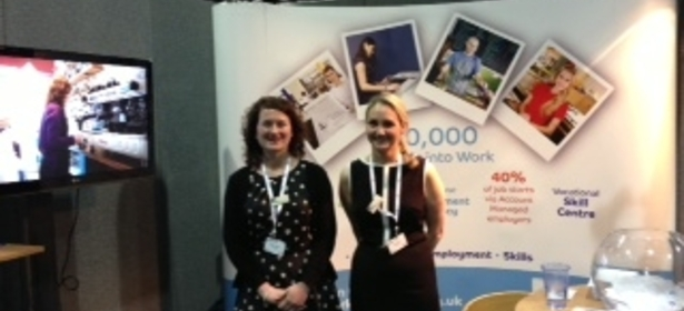 Work Solutions exhibits at Welfare to Work Convention