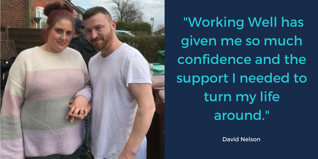 David overcomes depression and addiction with the help of Working Well