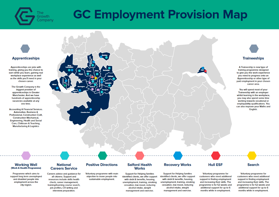GC Employment Provision Map